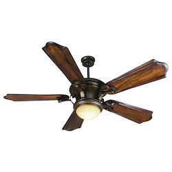 Craftmade Blade Indoor Ceiling Fan With Integrated Light - Includes, Peruvian