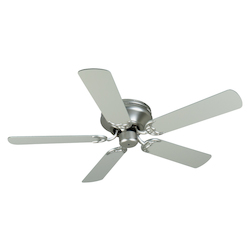 Craftmade Contemporary Flushmount Ceiling Fan With Five 52