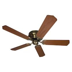 Craftmade Ontemporary Flushmount Ceiling Fan With Five 52