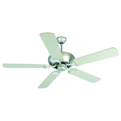 Craftmade Brushed Nickel Leeward 52in. 5 Blade Indoor Ceiling Fan - Blades Included