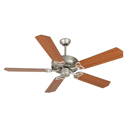 Craftmade Ceiling Fan In Brushed Nickel  52