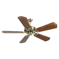 Craftmade Antique Brass CXL 56in. 5 Blade Energy Star Indoor Ceiling Fan - Blades Included