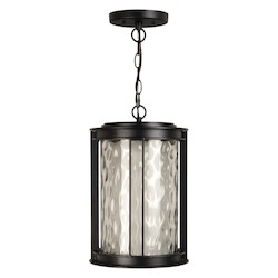 Craftmade Oiled Bronze Brentwood 1 Light LED Cylinder Outdoor Pendant - 9.5 Inches Wide