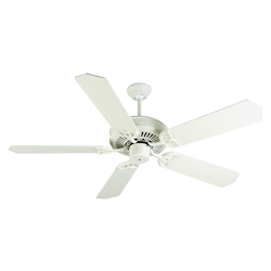 Craftmade Antique White CXL 52in. 5 Blade Energy Star Indoor Ceiling Fan - Blades Included