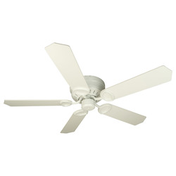 Craftmade White Universal Hugger Indoor Ceiling Fan With Five 52