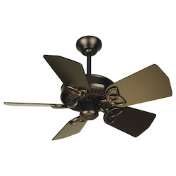Craftmade Oiled Bronze Piccolo 30in. 5 Blade Indoor Ceiling Fan - Blades Included