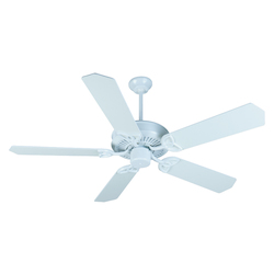 Craftmade White CXL 52in. 5 Blade Energy Star Indoor Ceiling Fan - Blades Included