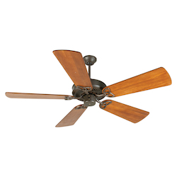 Craftmade Aged Bronze CXL 54in. 5 Blade Energy Star Indoor Ceiling Fan - Blades Included