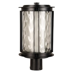 Craftmade Oiled Bronze Brentwood 1 Light LED Outdoor Post Light