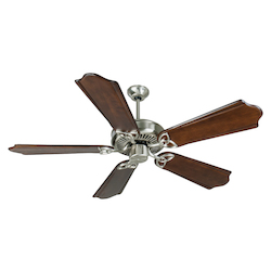 Craftmade Stainless Steel Cxl Ceiling Fan With Five 56