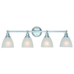 Craftmade Four Light Chrome Vanity