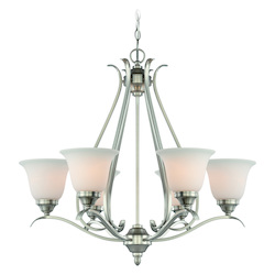 Craftmade Brushed Nickel Up Chandelier