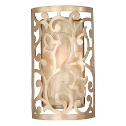 Corbett One Light Parisian Wall Light