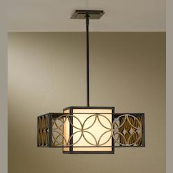 Feiss 2- Light Shade Pendant