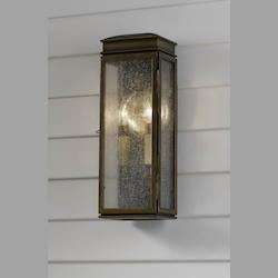Feiss Two Light Astral Bronze Wall Lantern
