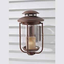 Feiss One Light Champagne Scavo Glass Cinnamon Wall Lantern