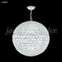 James R Moder Sun Sphere Europa Pendant With Silver Finish