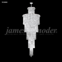 James R Moder Entry Chandelier With Silver Finish