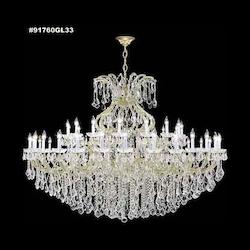 James R Moder Maria Theresa Grand Chandelier With Silver Finish