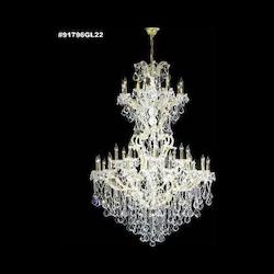 James R Moder 37 Light Maria Theresa Grand Chandelier In Silver Finish