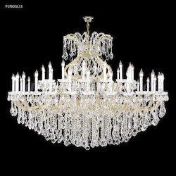 James R Moder Maria Theresa Grand Chandelier With Gold Finish