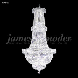 James R Moder 47 Light Prestige Chandelier With Silver Finish