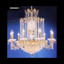 James R Moder Empress Crystal Chandelier With Strass Crystal