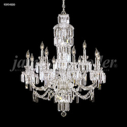 James R Moder Buckingham Chandelier With Silver Finish