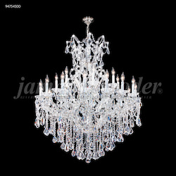 James R Moder 25 Light Maria Theresa Royal Chandelier In Silver