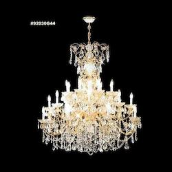 James R Moder Savannah Chandelier In Royal Gold Finish