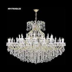 James R Moder Maria Theresa Grand Chandelier In Gold Finish