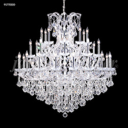 James R Moder Maria Theresa Grand Chandelier In Silver Finish