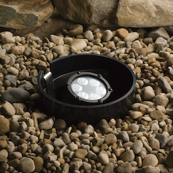 Kichler Landscape Six Light Textured Black Spot Light