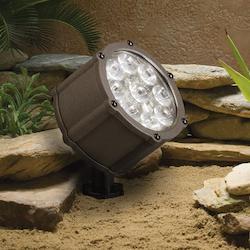 Kichler Landscape Textured Architectural Bronze Spot Light
