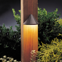 Kichler Landscape Textured Architectural Bronze Deck Light