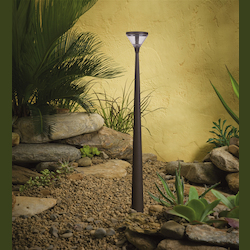 Kichler Landscape Six Light Textured Architectural Bronze Path Light