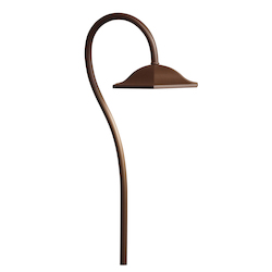 Kichler Landscape Bronzed Brass Path Light