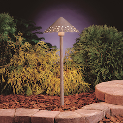 Kichler Landscape Three Light New Brick Path Light