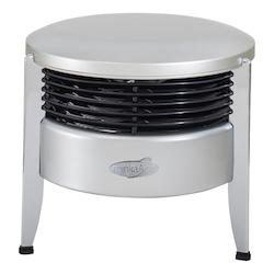 Minka-Aire Silver 12In. 3 Speed Hassock Aire Portable Floor Fan