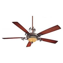 Minka-Aire Two Light Sterling Walnut Ceiling Fan
