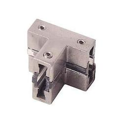 Minka George Kovacs Brushed Nickel T-Connector Rail Connector from the GK LIGHTRAIL® Series