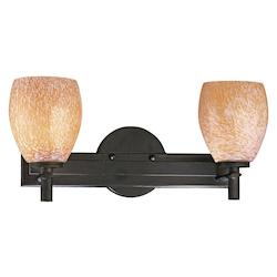 Minka George Kovacs Bronze 3 Light 17in. Bathroom Vanity Light