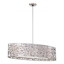 Minka George Kovacs Chrome 3 Light 1 Tier Linear Chandelier from the Layover Collection