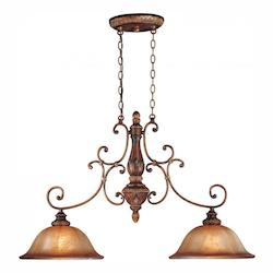 Minka-Lavery 2 Light Illuminati Bronze Island Light