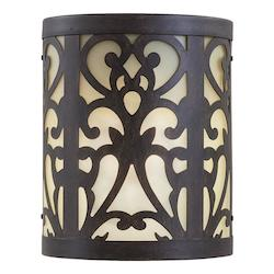 Minka-Lavery 1 Light Wall Mount With Bronze Finish