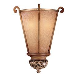 Minka-Lavery Florence Patina 2 Light Wall Sconce From The Salon Grand Collection