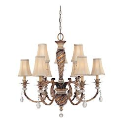 Minka-Lavery 9 Light Aston Court Chandelier