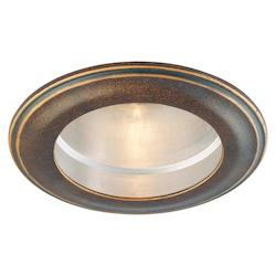 Minka-Lavery Deep Flax Bronze Four Inch Decorative Recessed Trim