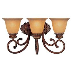 Minka-Lavery 3 Light Belcaro Walnut Bath Light