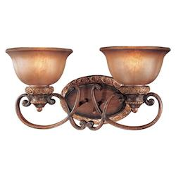 Minka-Lavery Illuminati Bronze 2 Light Bathroom Vanity Light From The Illuminati Collection